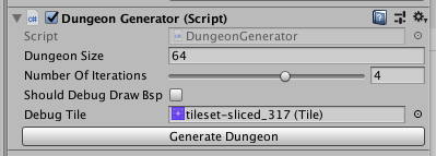 How to procedurally generate a dungeon using the BSP method on Unity